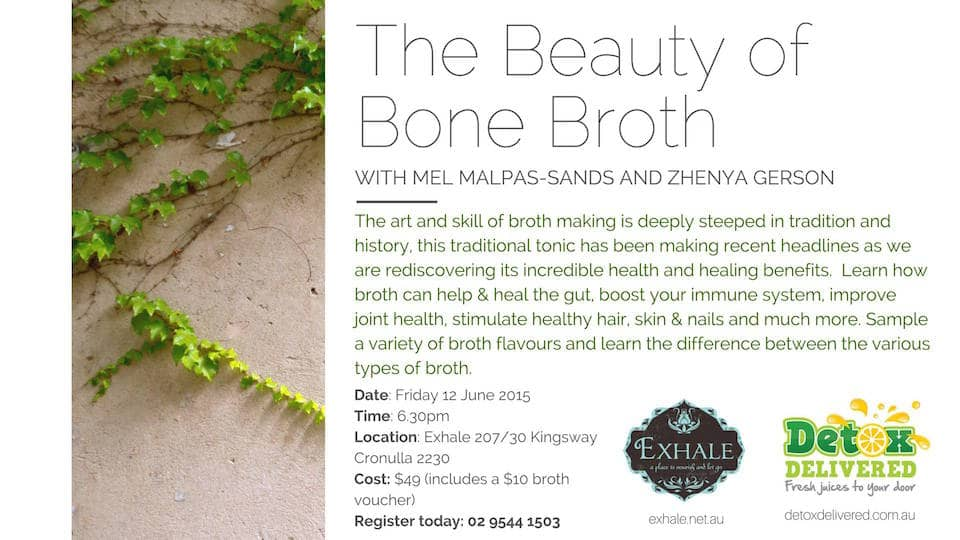 The Beauty of Bone Broth