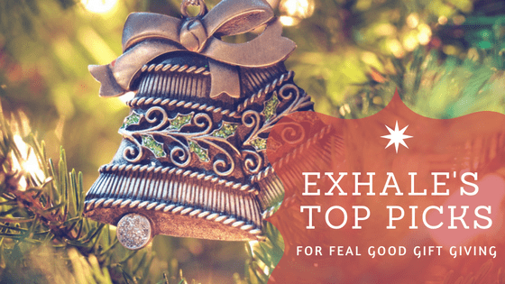 exhale's top picks for Christmas